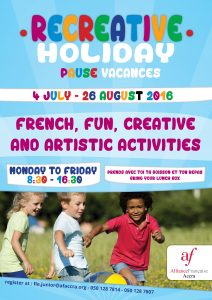 Recreative holiday_4th JULY-26th AUGUST_2016